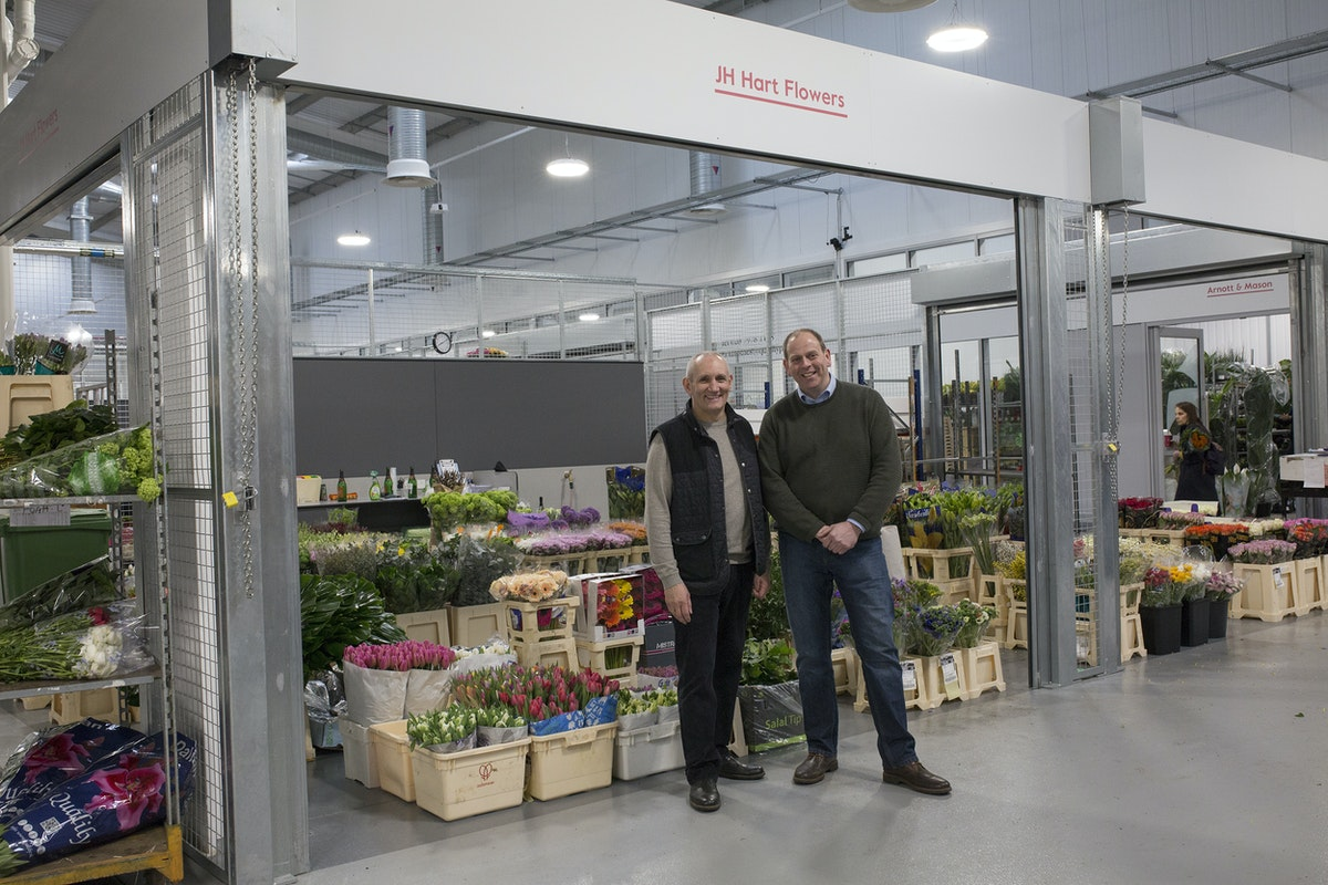 Brand New Flower Market At New Covent Garden Flower Market Rona Wheeldon Flowerona Richie Jonathan J H Hart Flowers