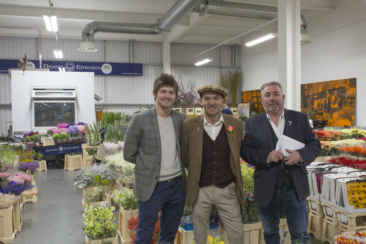 Brand New Flower Market At New Covent Garden Flower Market Rona Wheeldon Flowerona Sonny Edwin Dennis Dennis Edwards Flowers