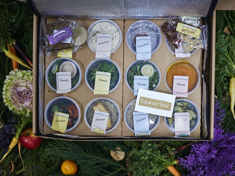 12 Days of New Covent Garden Market – Day 3, Balance Box