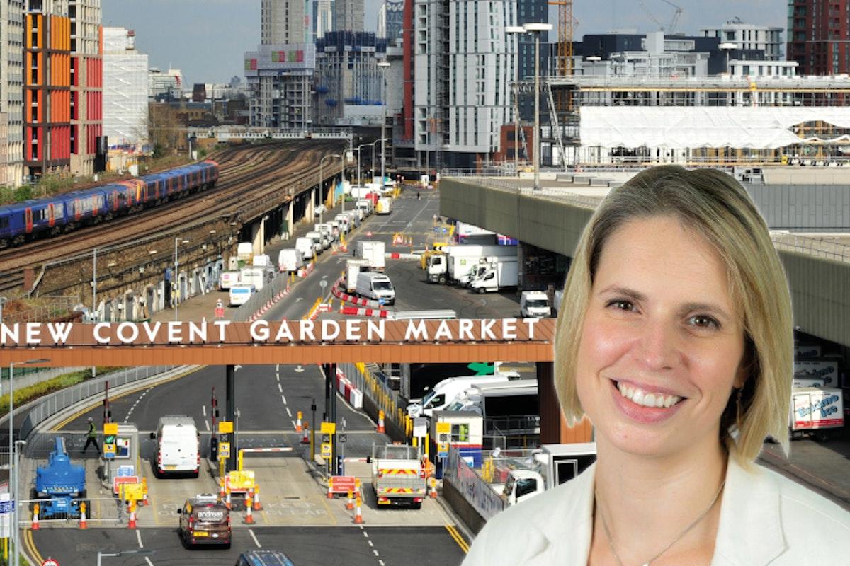Cassandra Glavin New Covent Garden Market