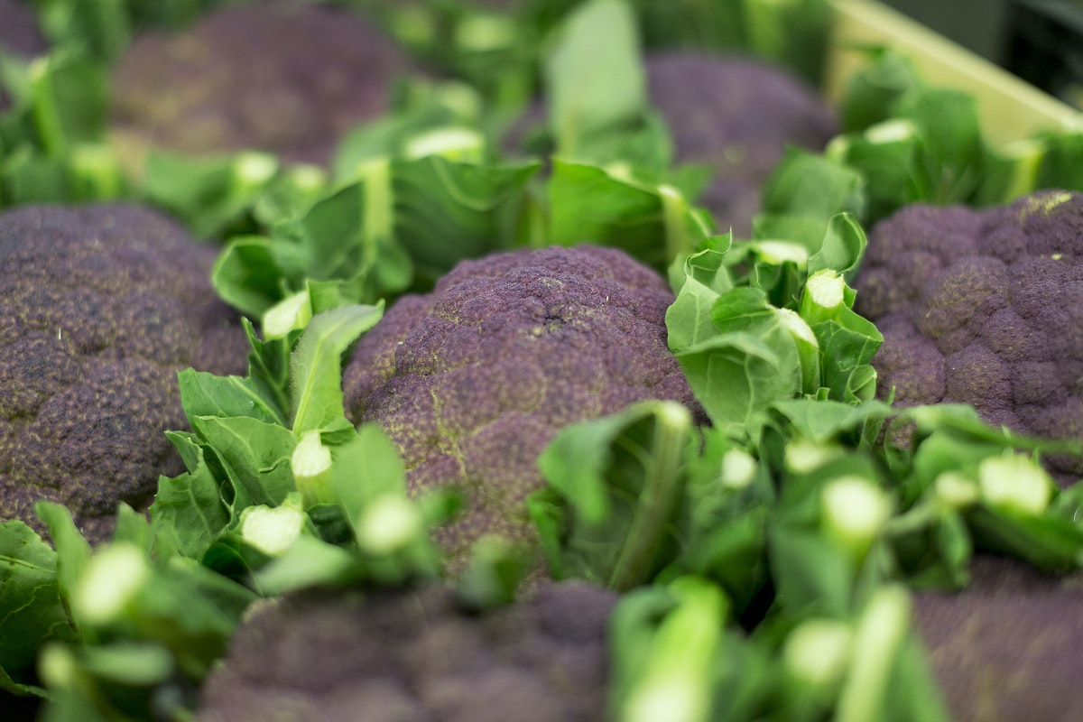 Fruit And Veg Market Report March 2017 Purple Cauliflower