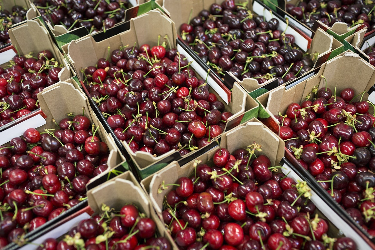 Fruit And Veg Market Report May 2017 Cherries