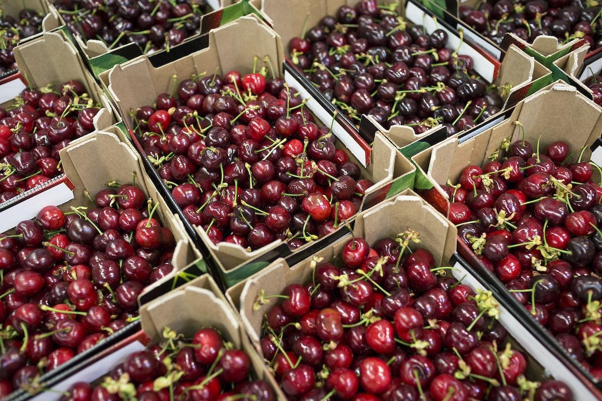 Fruit And Veg Market Report May 2017 Cherries