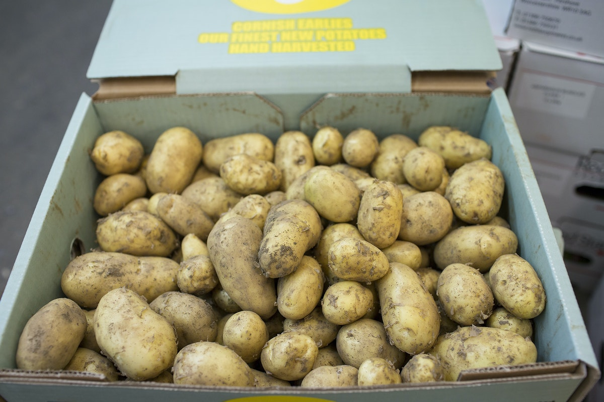 Fruit And Veg Market Report May 2017 Kentish New Potatoes