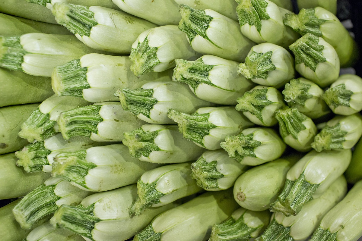 Fruit And Vegetable Market Report November 2014 White Courgettes
