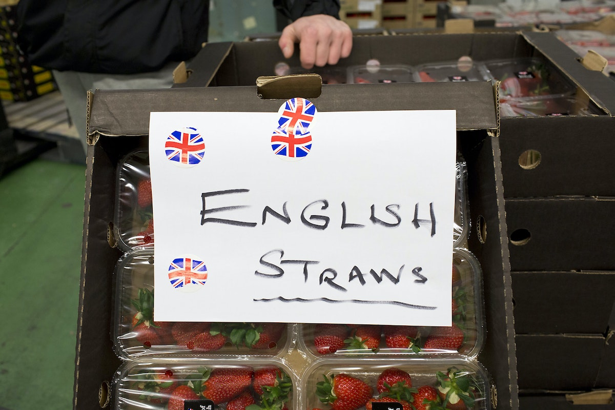 Fruit And Vegetable Market Report April 2016 English Strawberries