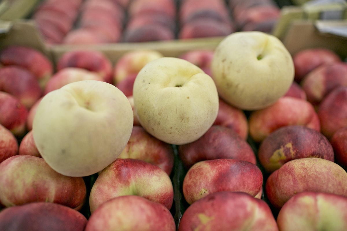 Fruit And Vegetable Market Report August 2014 Ice Peaches