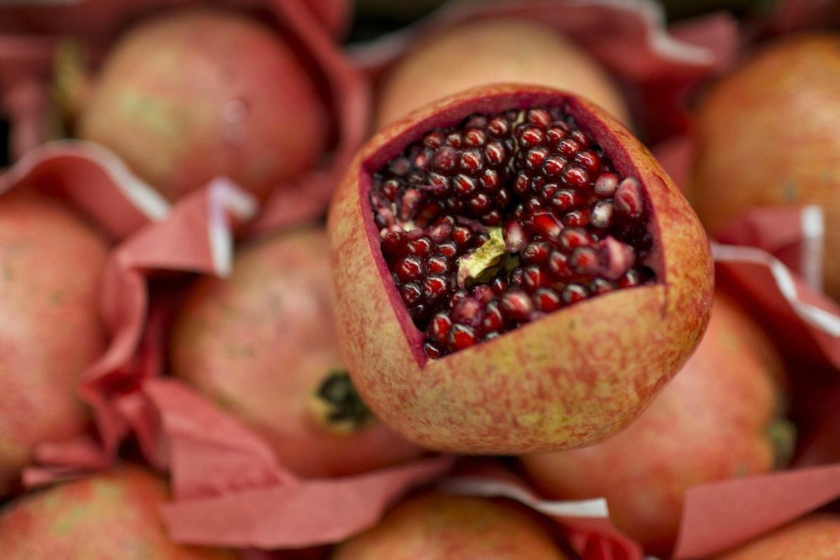 Fruit And Vegetable Market Report December 2014 Pomegranate