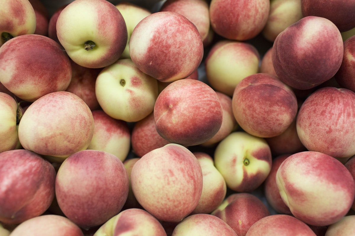 Fruit And Vegetable Market Report February 2016 White Peaches