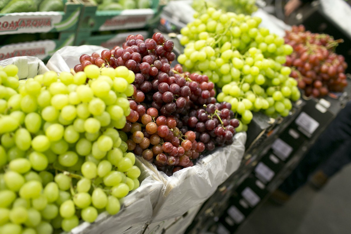 Fruit And Vegetable Market Report January 2015 Grapes