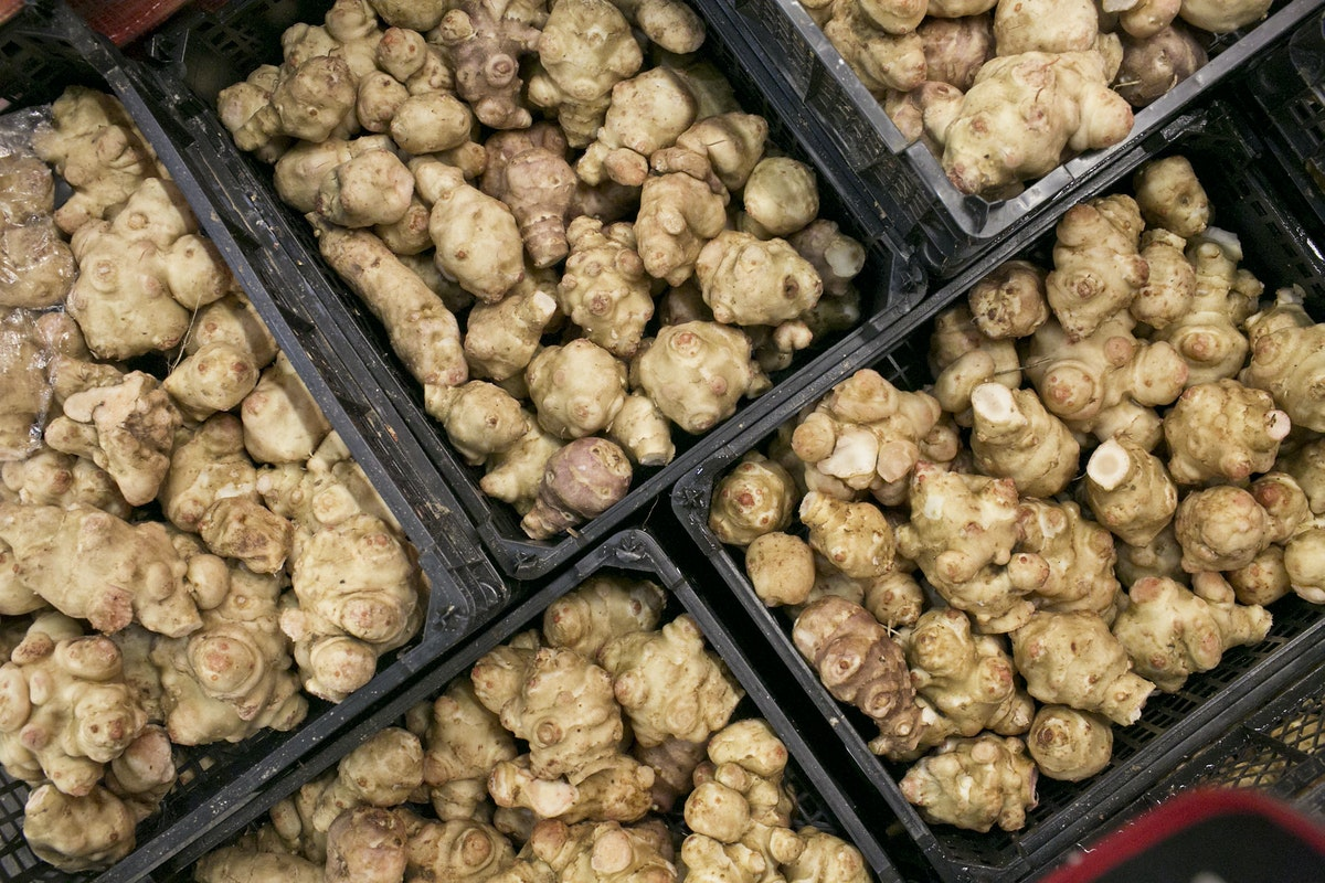 Fruit And Vegetable Market Report January 2015 Jerusalem Artichokes