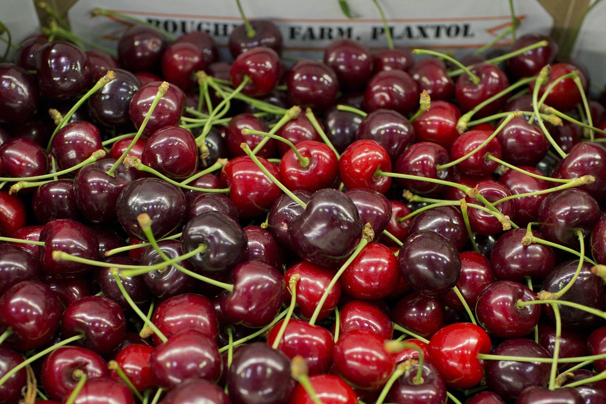 Fruit And Vegetable Market Report July 2014 Cherries