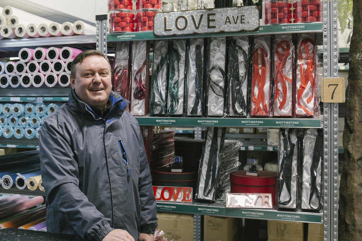 New Covent Garden Flower Market February 2019 In Season Report Rona Wheeldon Flowerona Ian At Whittingtons And Valentines Day Display