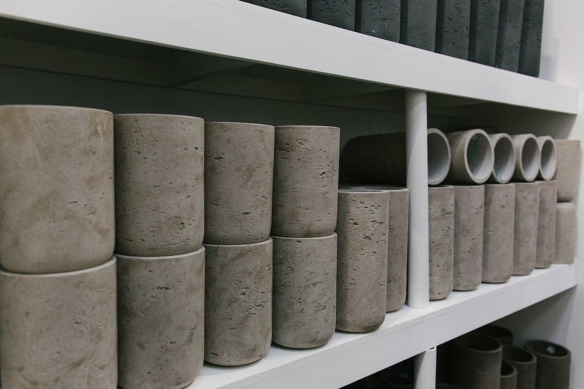 New Covent Garden Flower Market September 2018 In Season Report Rona Wheeldon Flowerona Light Grey Rough Stone Pots Cylinder Pots At C Best