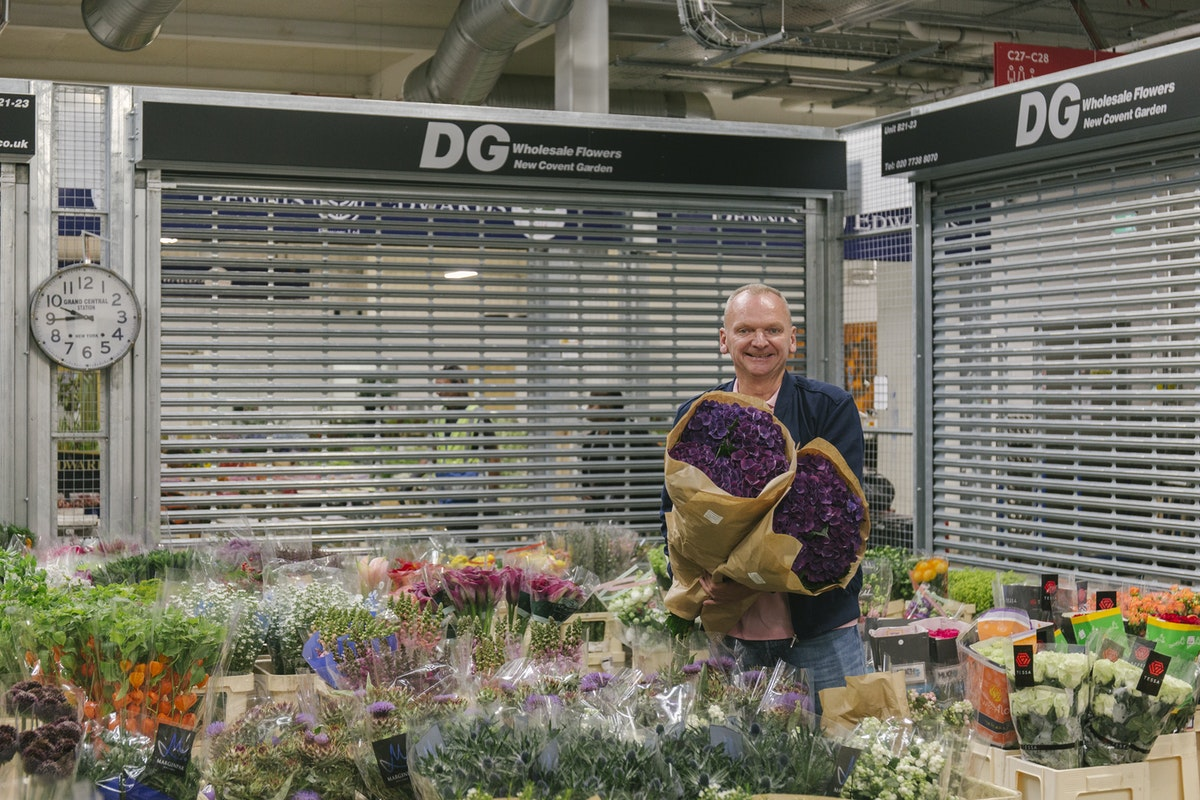 New Covent Garden Flower Market September 2019 In Season Report Rona Wheeldon Flowerona David At Dg Wholesale Flowers With Hydrangeas