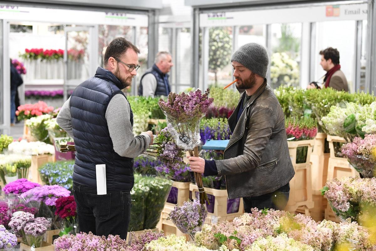 New Covent Garden Flower Market Overs 618