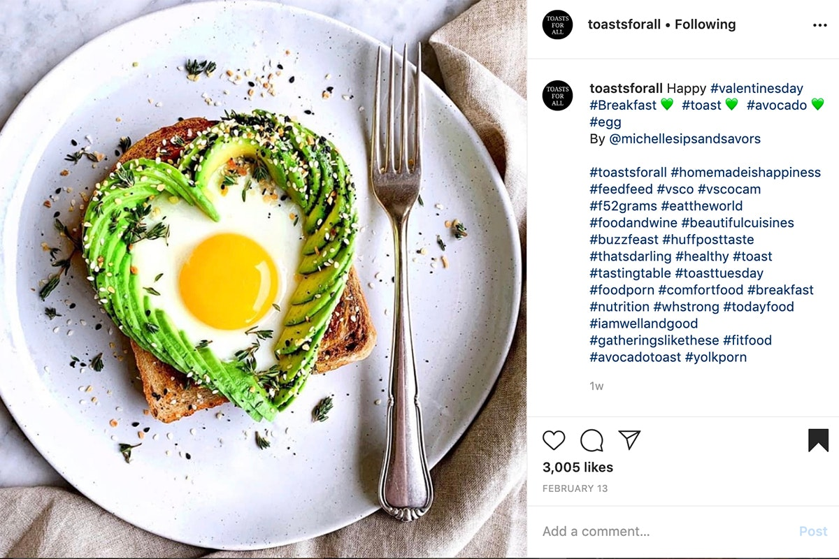 Fruit And Veg Market Chefs Guide To Avocadoes Heart Toast