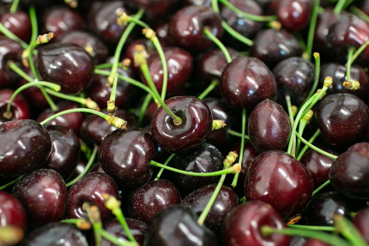 Fruit And Veg Market July 2019 Cherries