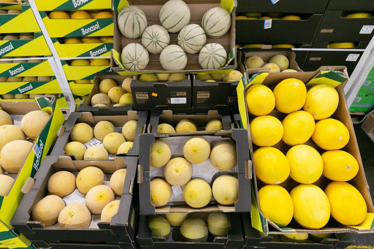 Fruit And Veg Market July 2019 Melons