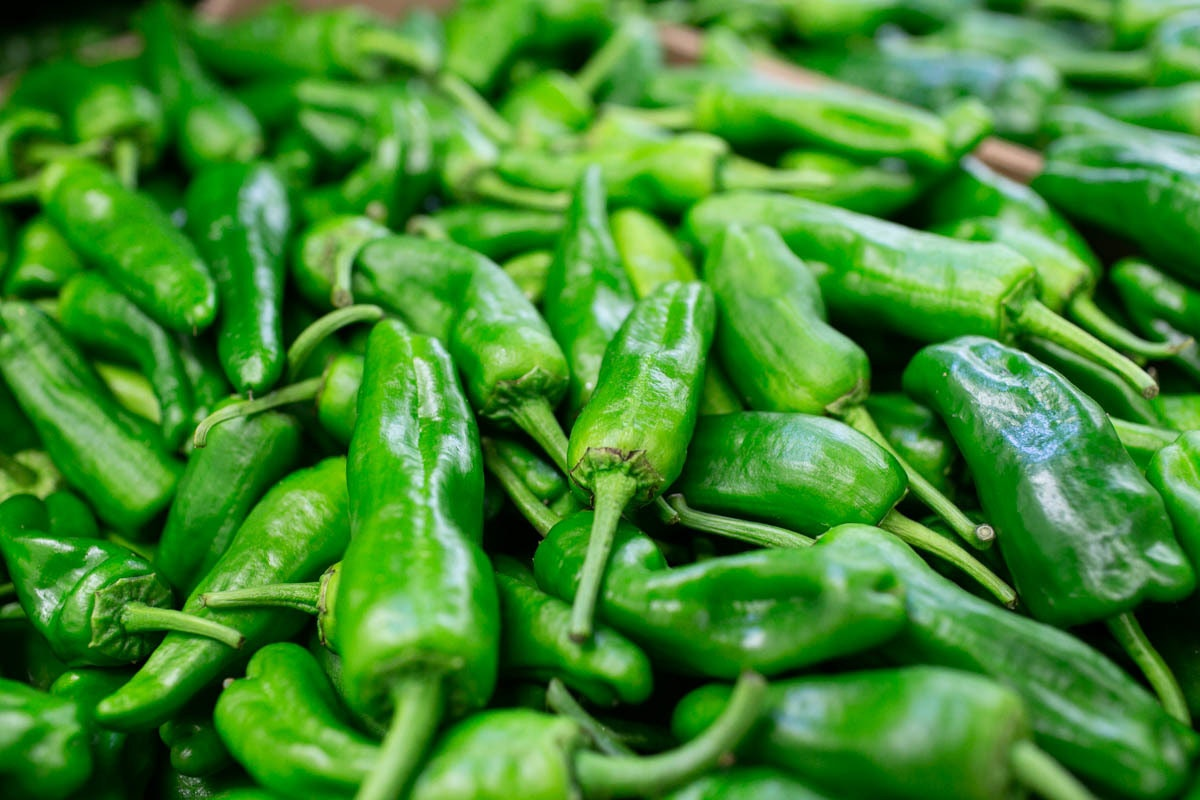 Fruit And Veg Market July 2019 Padron Peppers