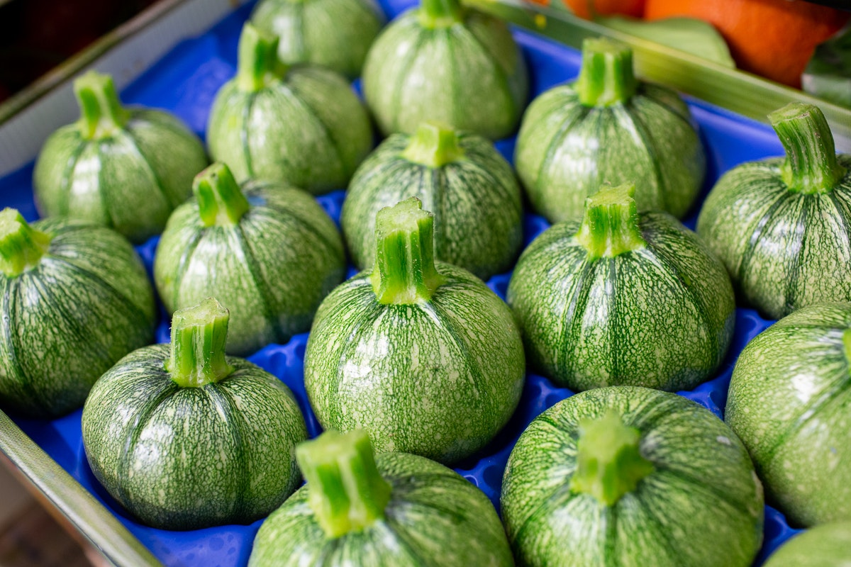Fruit And Veg Market Report April 2019 Round Courgette