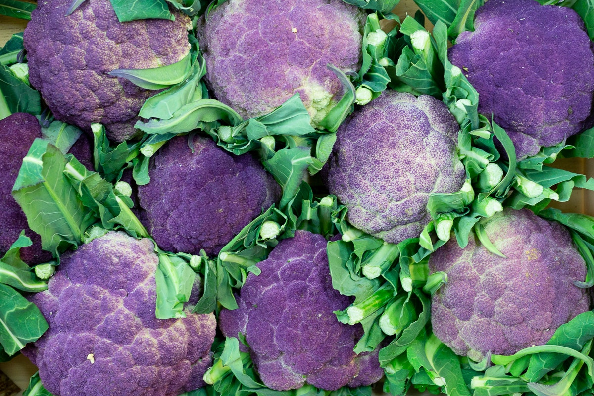 Fruit And Veg Market Report February 2019 Purple Cauliflower