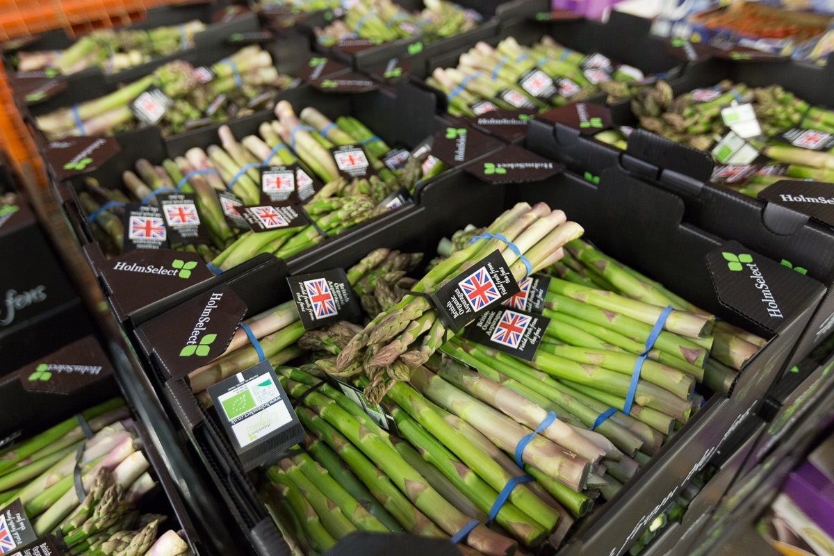 Fruit And Veg Market Report June 2018 Asparagus Pallet