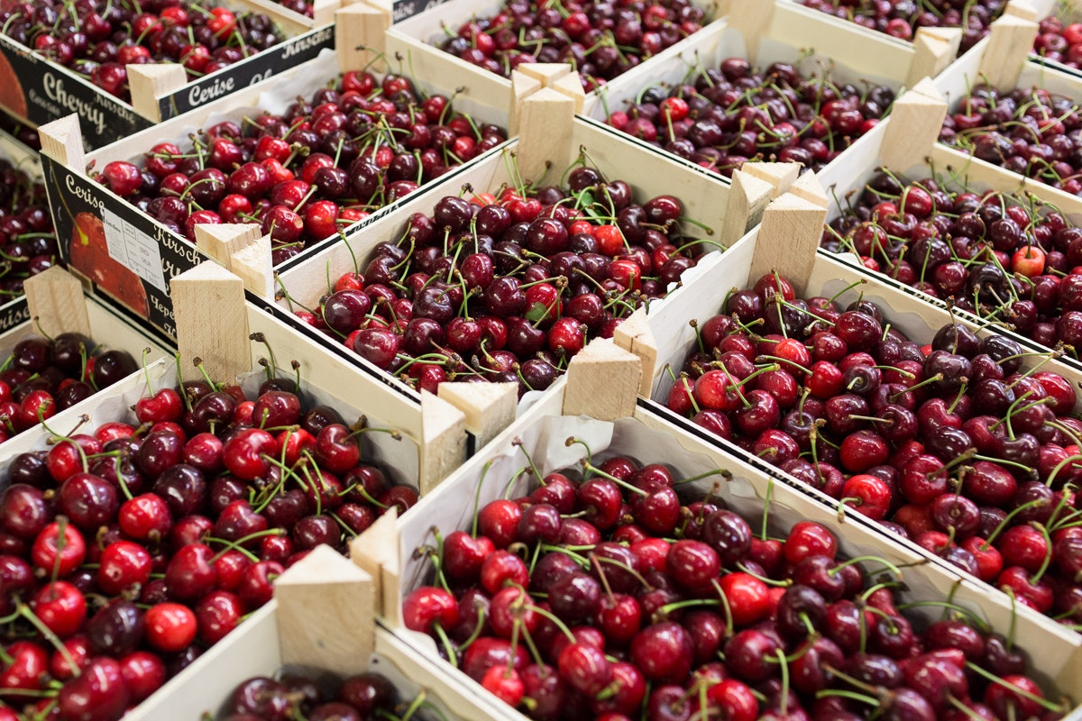 Fruit And Veg Market Report June 2018 Cherries Pallet