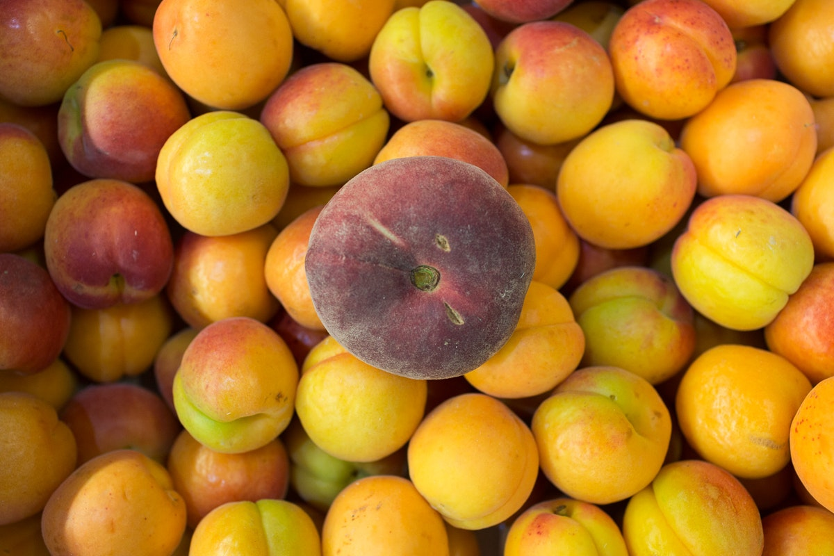 Fruit And Veg Market Report June 2018 Flat Peach