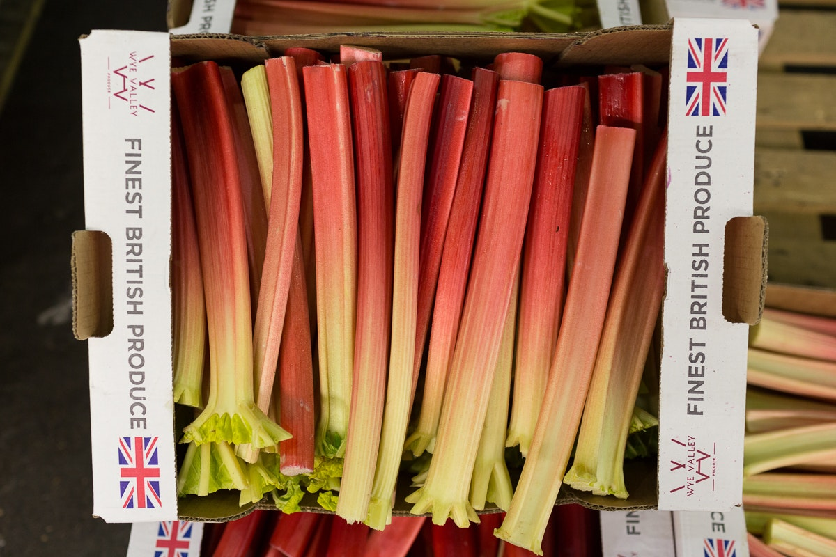Fruit And Veg Market Report June 2018 Outdoor Rhubarb