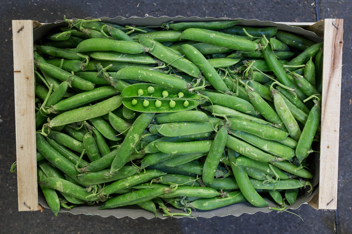 Fruit And Veg Market Report June 2018 Peas