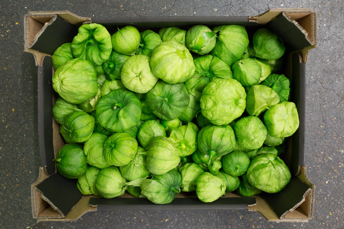 Fruit And Veg Market Report June 2018 Tomatillo