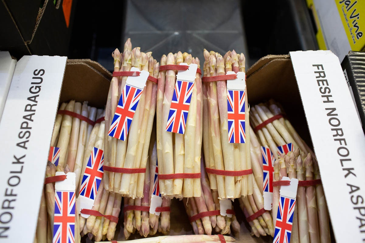 Fruit And Veg Market Report June 2019 Asparagus