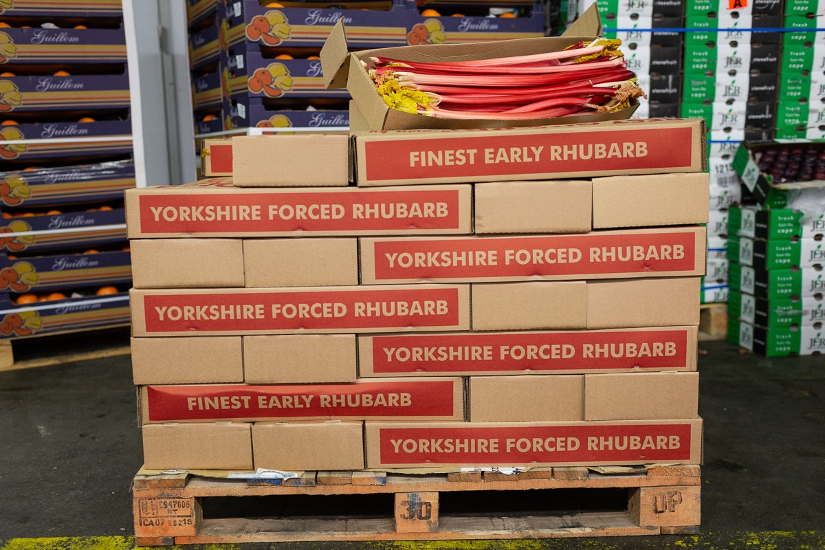 Fruit And Veg Market Report March 2019 Forced Rhubarb Pallet