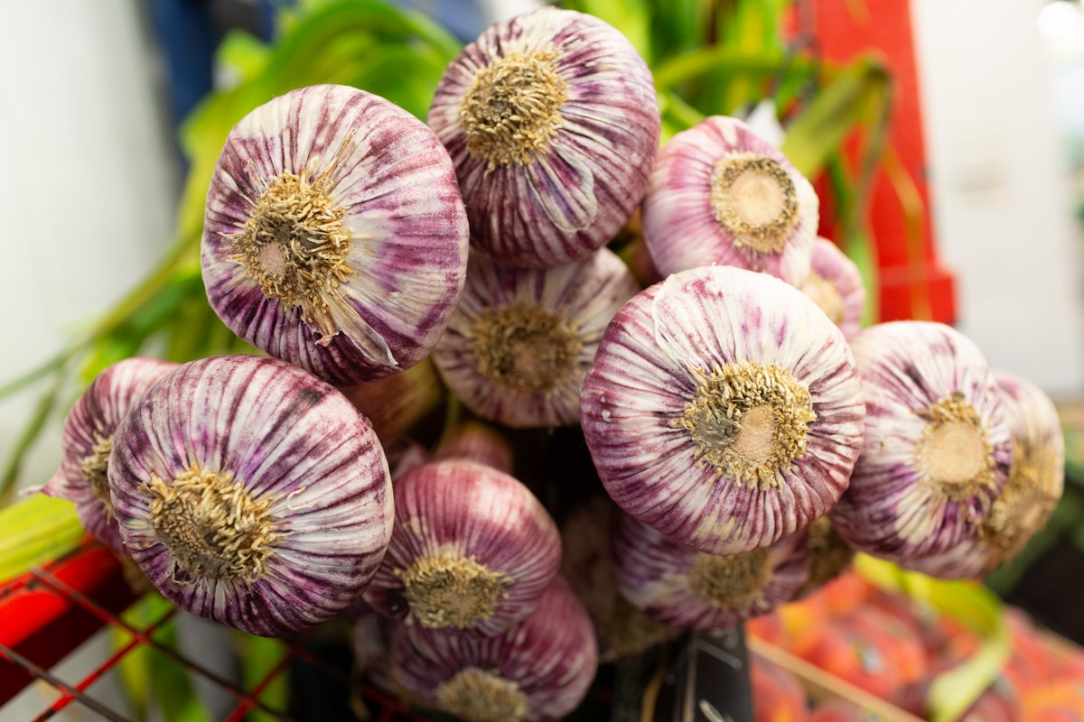 Fruit And Veg Market Report May 2019 Purple Garlic French Garden
