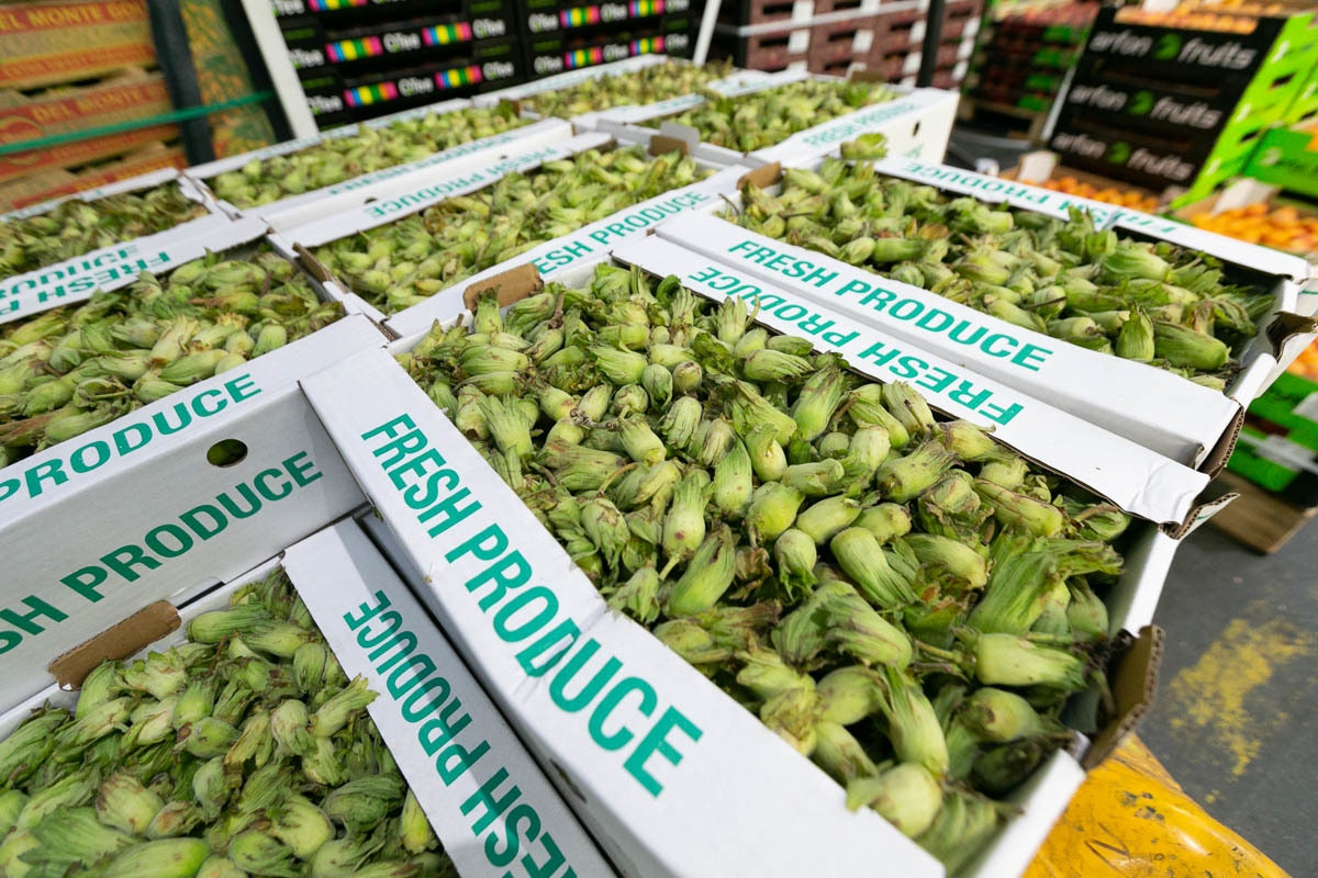Fruit And Veg Market Report September 2019 Cobnuts