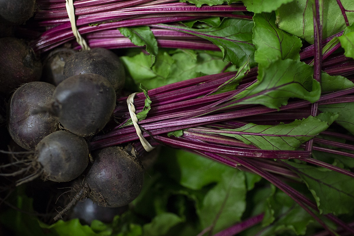 Fruit And Vegetable Market Chefs Guide Root To Flower Beetroot