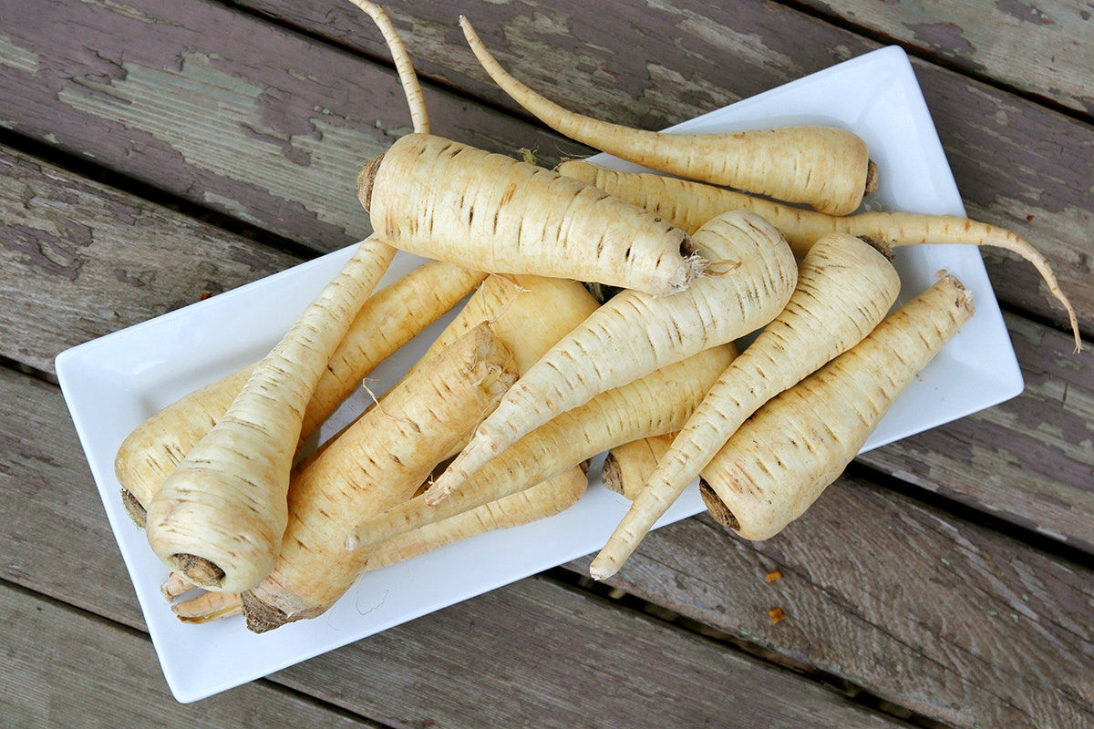 Fruit And Vegetable Market Chefs Guide Root To Flower Parsnips