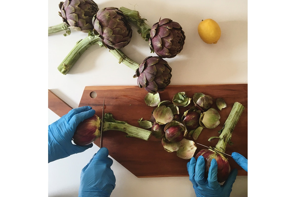 Fruit And Vegetable Market Chefs Guide To Artichokes March 2018 Lola Zlokapa