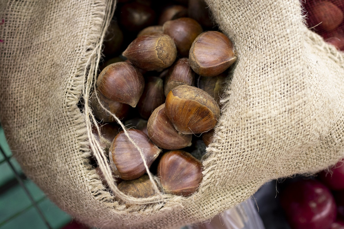 Fruit And Vegetable Market Chefs Guide To Chestnuts Chinese