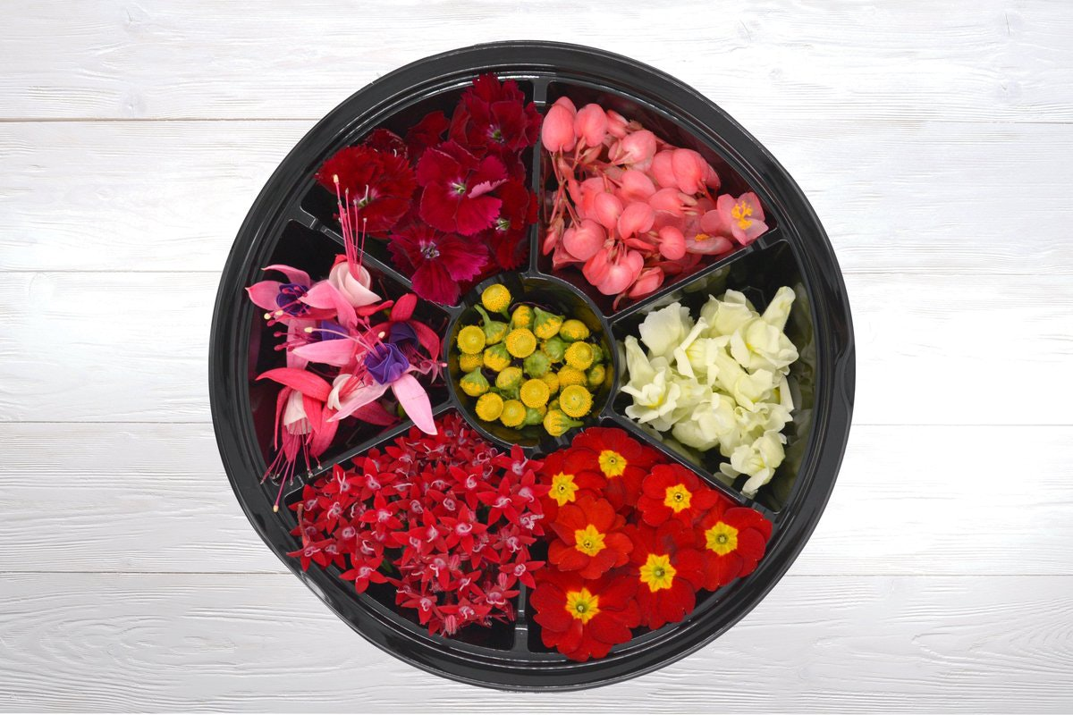 Fruit And Vegetable Market Chefs Guide To Food Trends 2020 Edible Flower Wheel