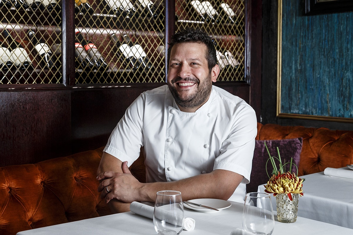 Fruit And Vegetable Market Chefs Guide To Morels Steve Groves Portrait