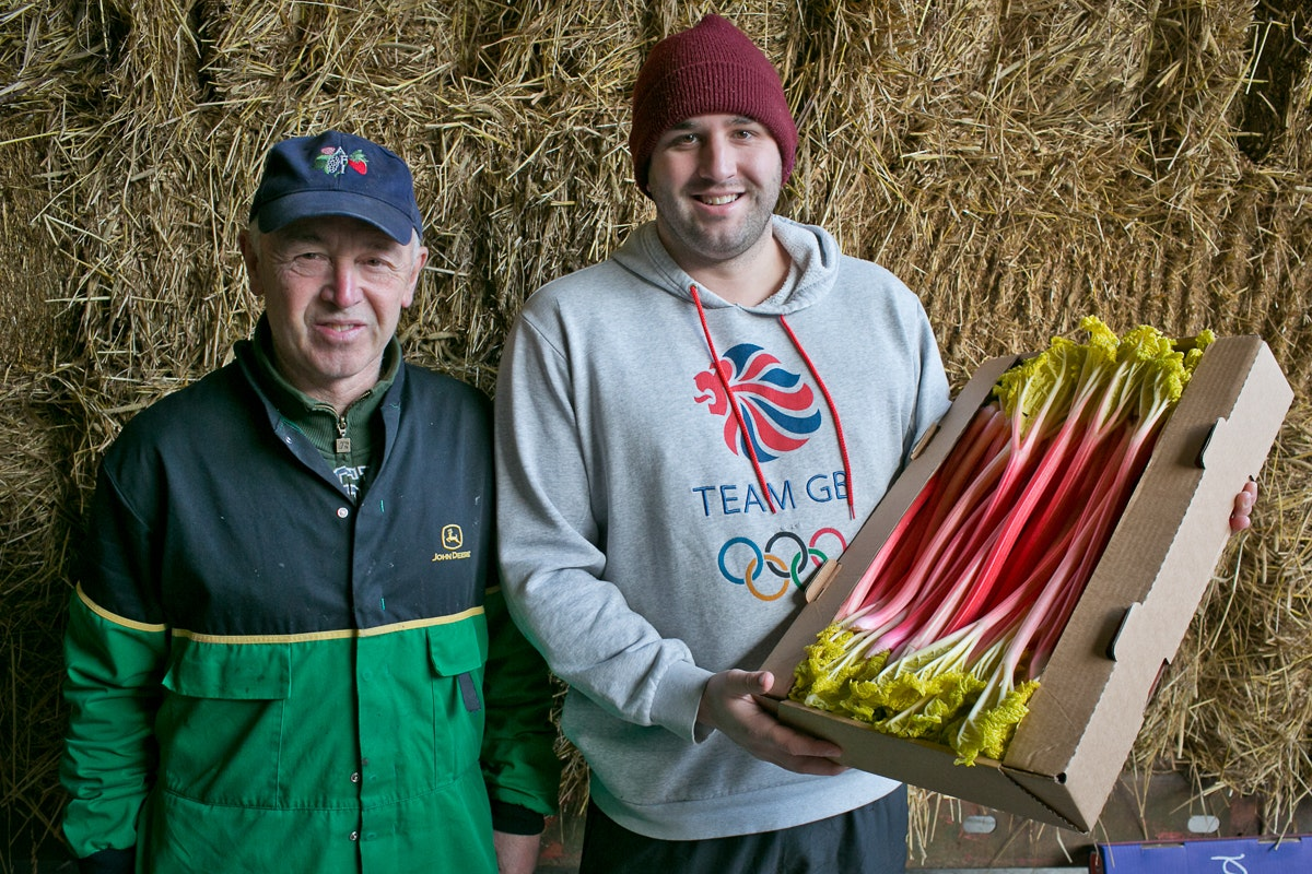 Fruit And Vegetable Market Chefs Guide To Yorkshire Forced Rhubarb January 2018 Oldroyds
