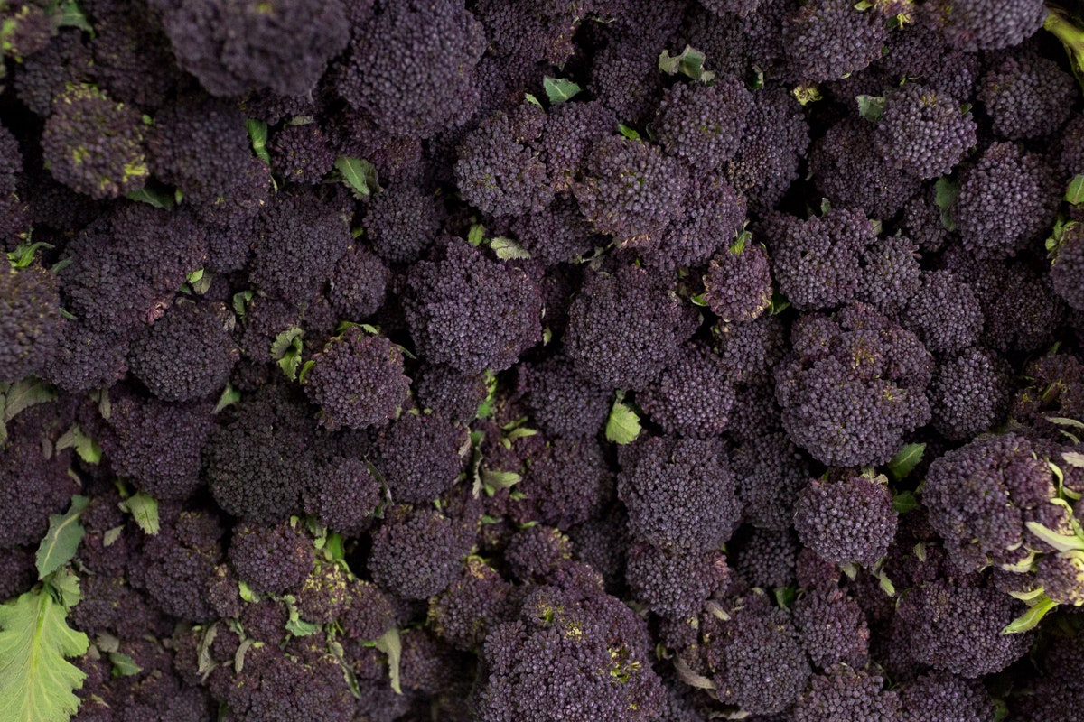 Fruit And Vegetable Market Report April 2018 Purple Sprouting