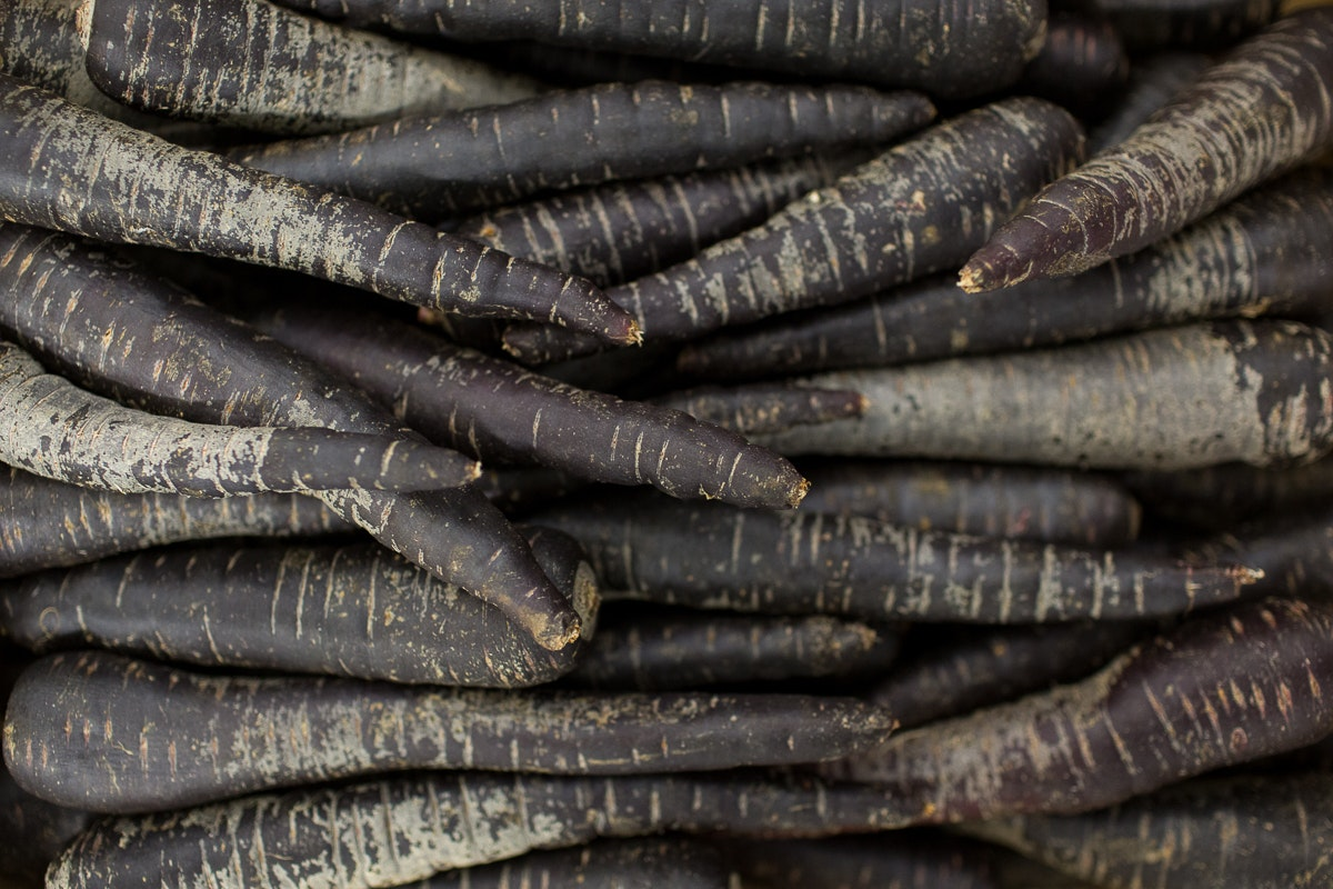 Fruit And Vegetable Market Report November 2017 Purple Carrots