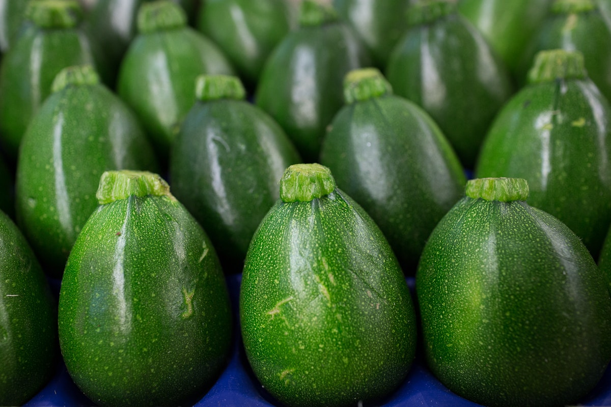 Fruit And Vegetable Market Report November 2017 Round Courgettes