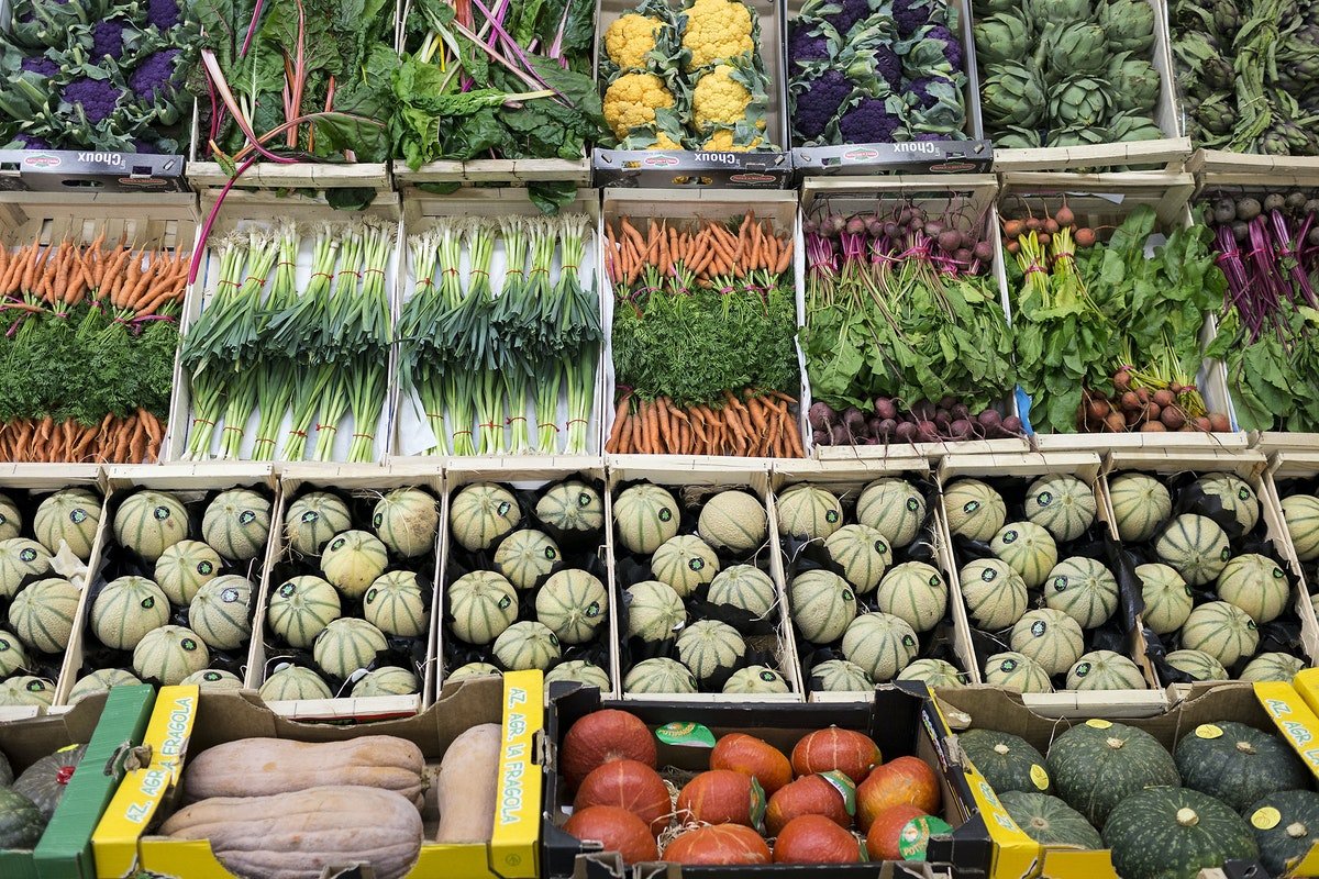 Fruit And Vegetable Market Report September 2016 Display French Garden