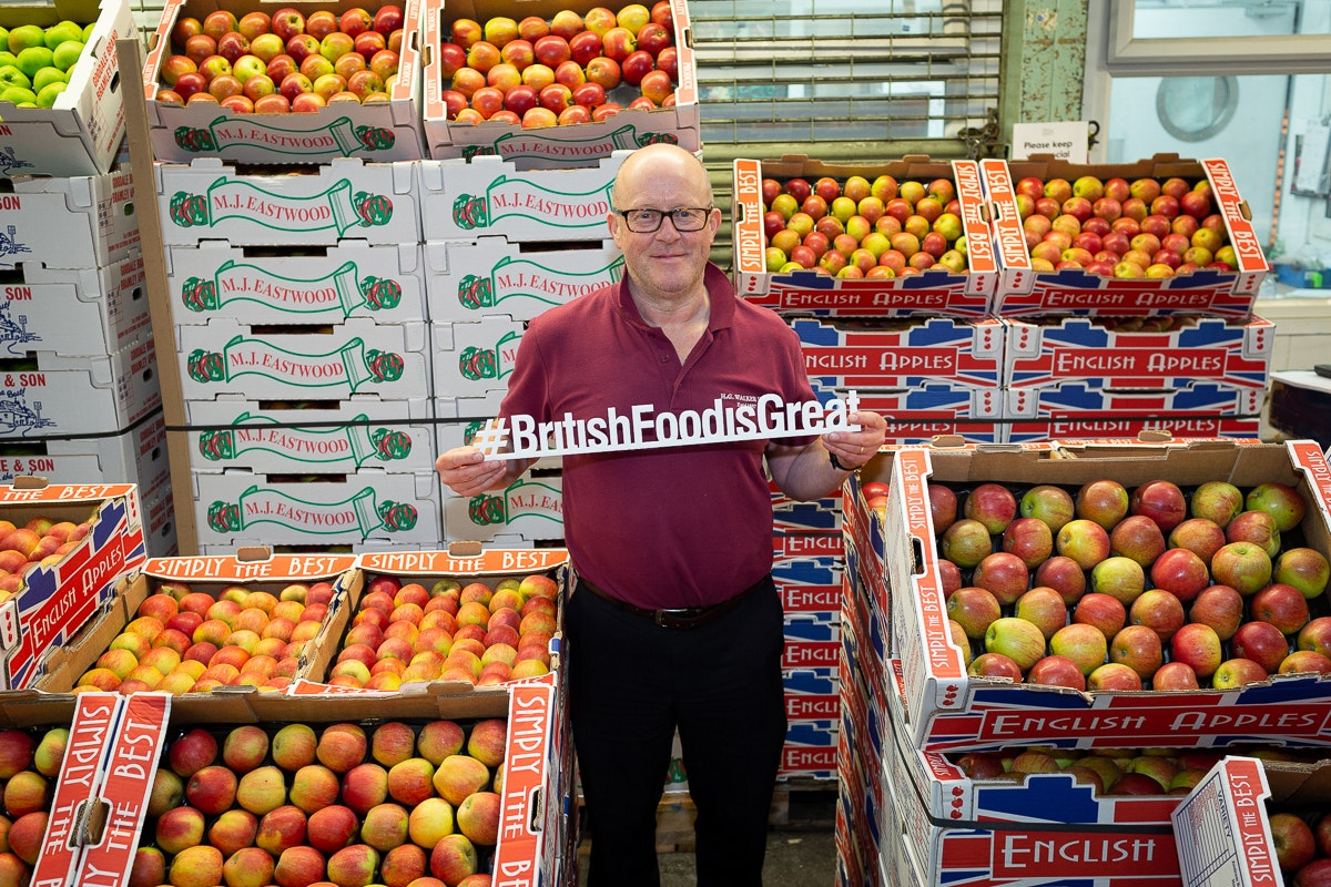 Ncgm British Food Fortnight Apples Eddie Barrett