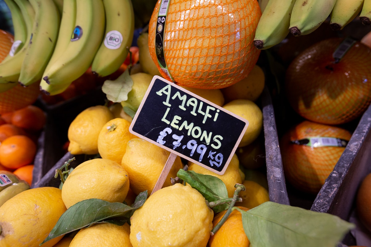 New Covent Garden Market Customer Profile February 2018 Andreas Veg Amalfi Lemons