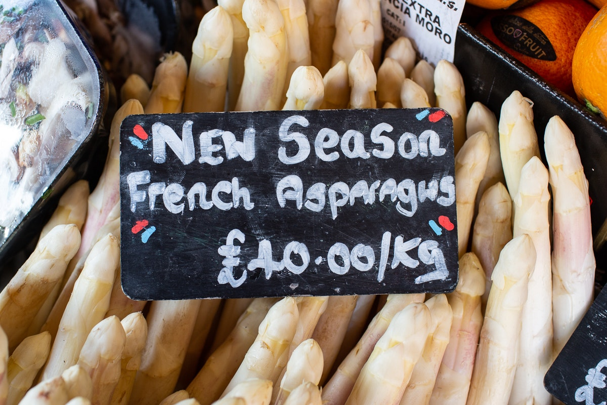 New Covent Garden Market Customer Profile February 2018 Andreas Veg Asparagus